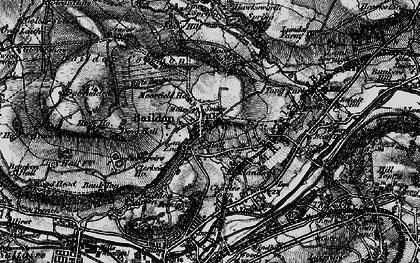 Old map of Baildon Moor in 1898
