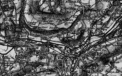 Old map of Baildon Green in 1898