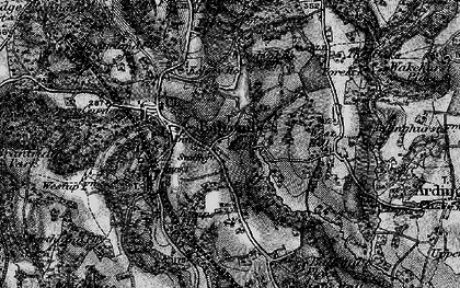 Old map of Balcombe in 1895