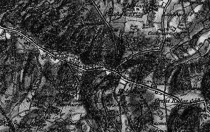 Old map of Baldslow in 1895