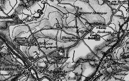 Old map of Ball in 1895
