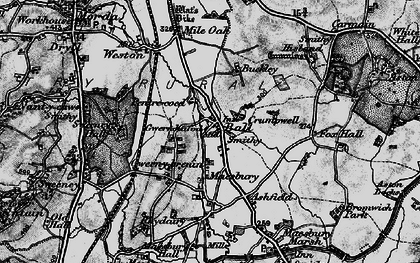Old map of Ball in 1897