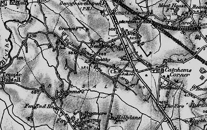 Old map of Balsall in 1899