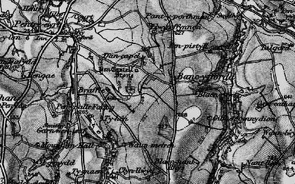 Old map of Bancyfford in 1898