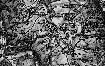 Old map of Bank Street in 1899