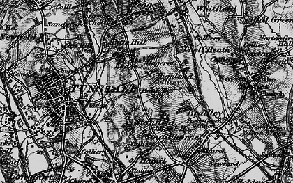 Old map of Bank Top in 1897