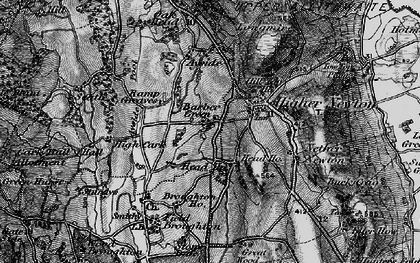 Old map of Barber Green in 1898