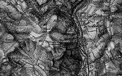 Old map of Bargoed in 1897
