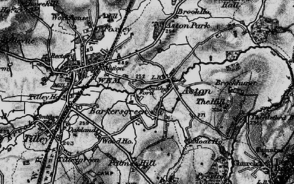 Old map of Aston Grange in 1897