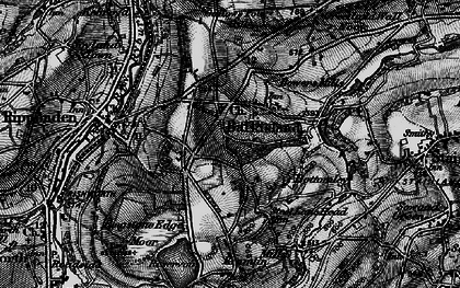 Old map of Barkisland in 1896
