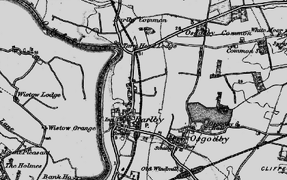 Old map of Barlby in 1898