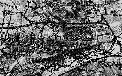 Old map of Barnehurst in 1896