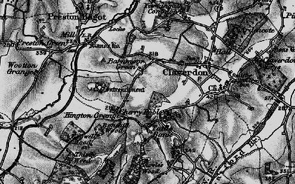 Old map of Barnmoor Green in 1898