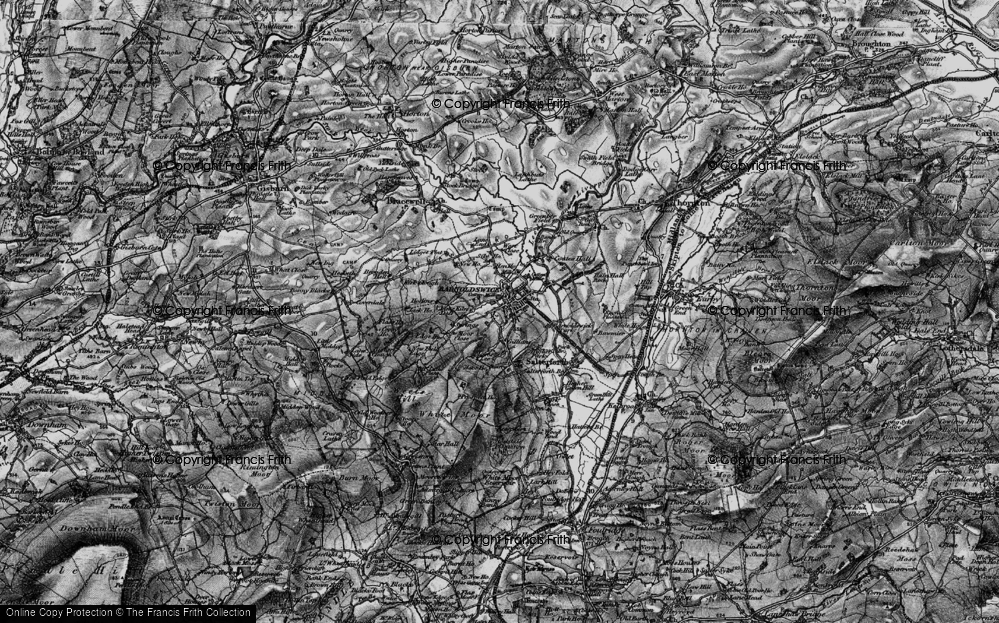 Old Map of Barnoldswick, 1898 in 1898
