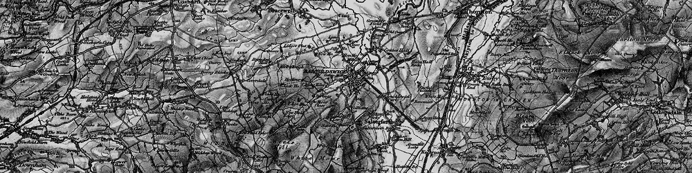 Old map of Barnoldswick in 1898