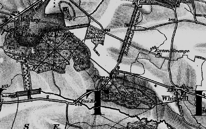Old map of Barnsdale in 1895