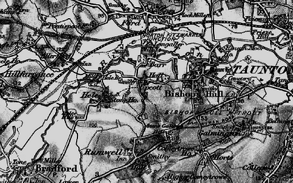 Old map of Barr in 1898