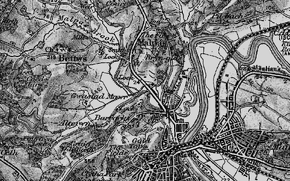 Old map of Barrack Hill in 1897