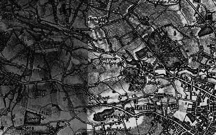 Old map of Barrow Bridge in 1896