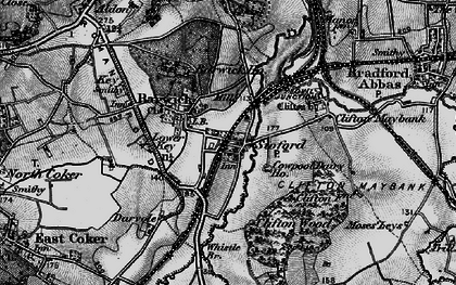 Old map of Barwick in 1898