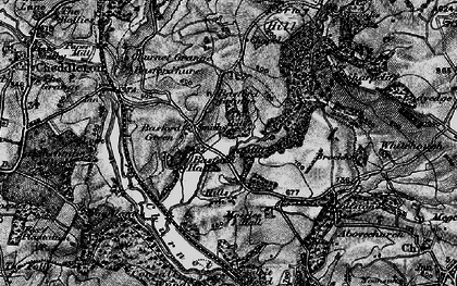 Old map of Whitehough in 1897