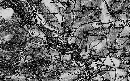 Old map of Bathpool in 1895