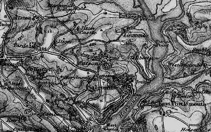Old map of Batson in 1897