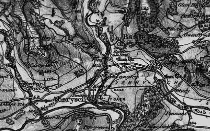 Old map of Battle in 1898