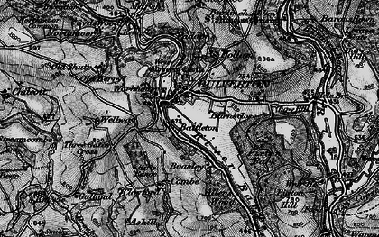 Old map of Wilway in 1898