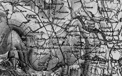 Old map of Bambers in 1898