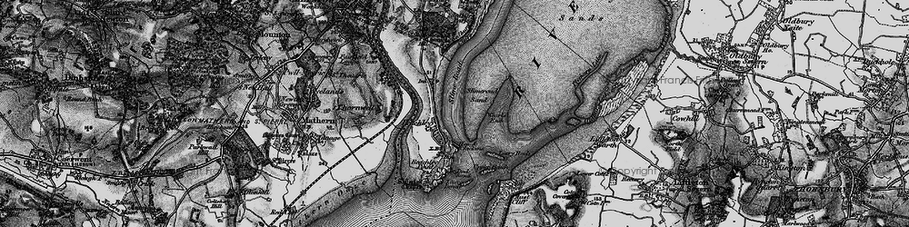 Old map of Whirls End in 1897