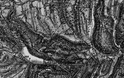 Old map of Beacon Hill in 1895