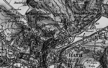 Old map of Beacon Hill in 1898
