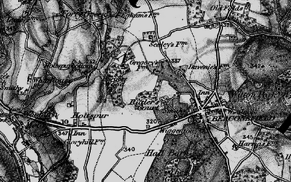 Old map of Beaconsfield in 1896