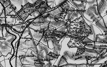 Old map of Bearley in 1898