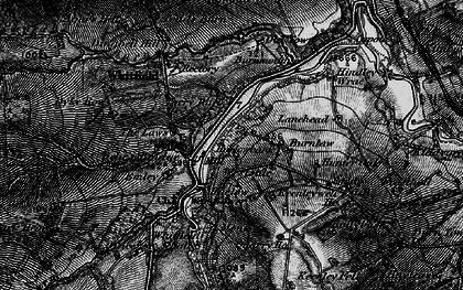 Old map of Westside in 1897