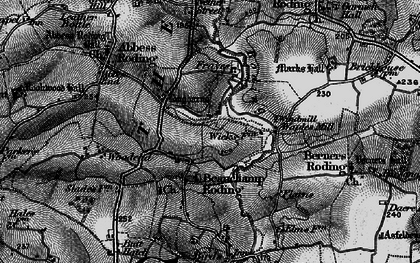 Old map of Whaypules in 1896