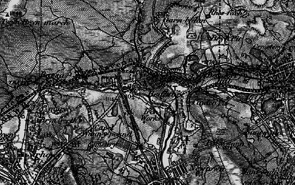 Old map of Beaufort in 1897