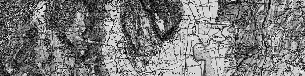 Old map of White Scar in 1898