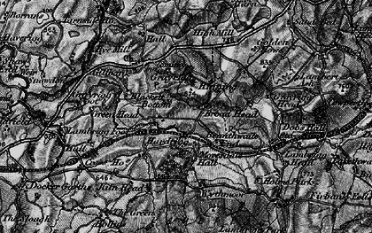 Old map of Wythmoor in 1897