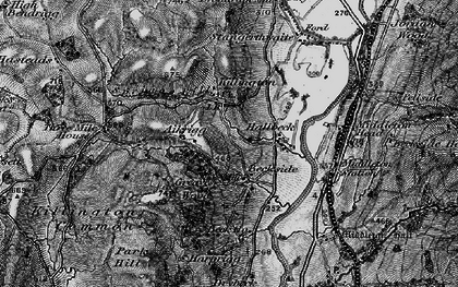 Old map of Aikrigg in 1897