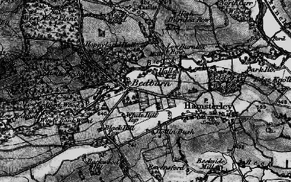 Old map of Windy Bank in 1897