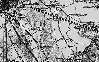 Old map of Bedgrove in 1895