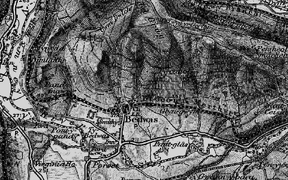 Old map of Bedwas in 1897