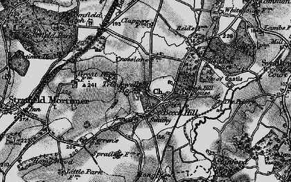 Old map of Beech Hill in 1895