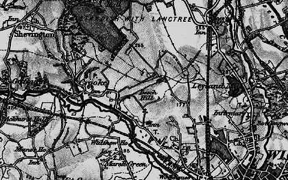 Old map of Beech Hill in 1896