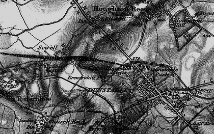 Old map of Beecroft in 1896