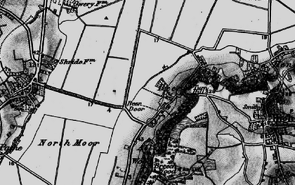 Old map of Beer in 1898