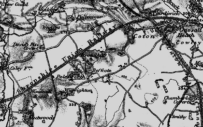 Old map of Broadhill in 1897