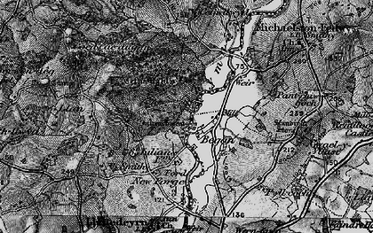 Old map of Began in 1898